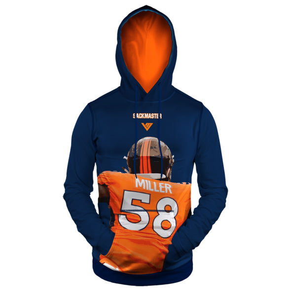 "Von Miller Official Kids ""Sack Master"" Performance Hoodie"