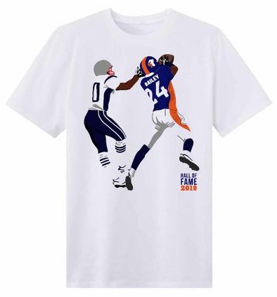 Champ Bailey Official '19 H.O.F. Limited Edition Art Tee S/S
