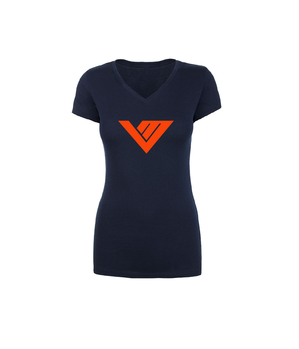Von Miller Official Ladies Name & Number V-Neck Tee S/S