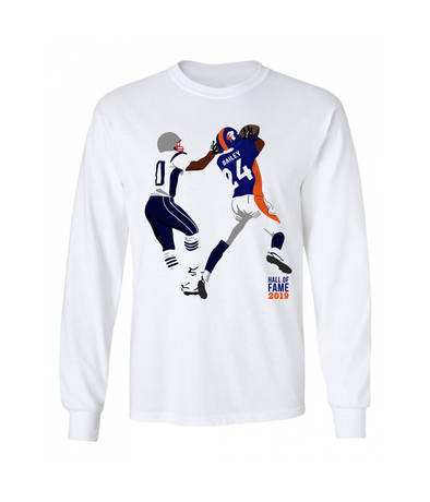 Champ Bailey Official '19 H.O.F. Limited Edition Art Tee L/S