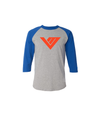Von Miller Official Name And Number Tri-Blend 3/4 Raglan Tee