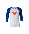 Von Miller Official Ladies Name & Number Scoop Neck Raglan 3/4 Sleeve Tee