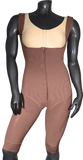 101 HIGH COMPRESSION GIRDLE ABOVE THE KNEE WITH FRONTAL ZIPPER AND BUTTOCKS AREA OPEN. - BODY SHAPE TECH