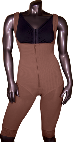 108Z HIGH COMPRESSION GIRDLE ABOVE THE KNEE WITH FRONTAL ZIPPER.