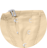 198 MEDIUM COMPRESSION GIRDLE ABOVE THE KNEE WITH FRONTAL HOOKS AND LONG SLEEVES. - BODY SHAPE TECH