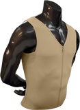 401 HIGH COMPRESSION VEST WITH FRONTAL ZIPPER. - BODY SHAPE TECH