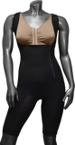744B HIGH COMPRESSION GIRDLE ABOVE THE KNEE WITH LATERAL ZIPPER. - BODY SHAPE TECH