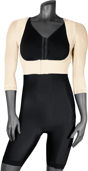 765 ARM COMPRESSION JACKET 􏰍SLEEVES WITH FRONTAL HOOKS. - BODY SHAPE TECH