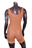 102-2 High Compression Shortie Lined Girdle High Back - BODY SHAPE TECH