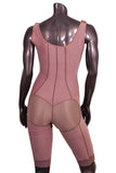 108G High Compression Above the Knee Lined Girdle with Hooks - BODY SHAPE TECH