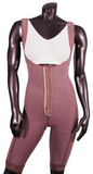 108G HIGH COMPRESSION ABOVE THE KNEE WITH FRONTAL HOOKS. - BODY SHAPE TECH