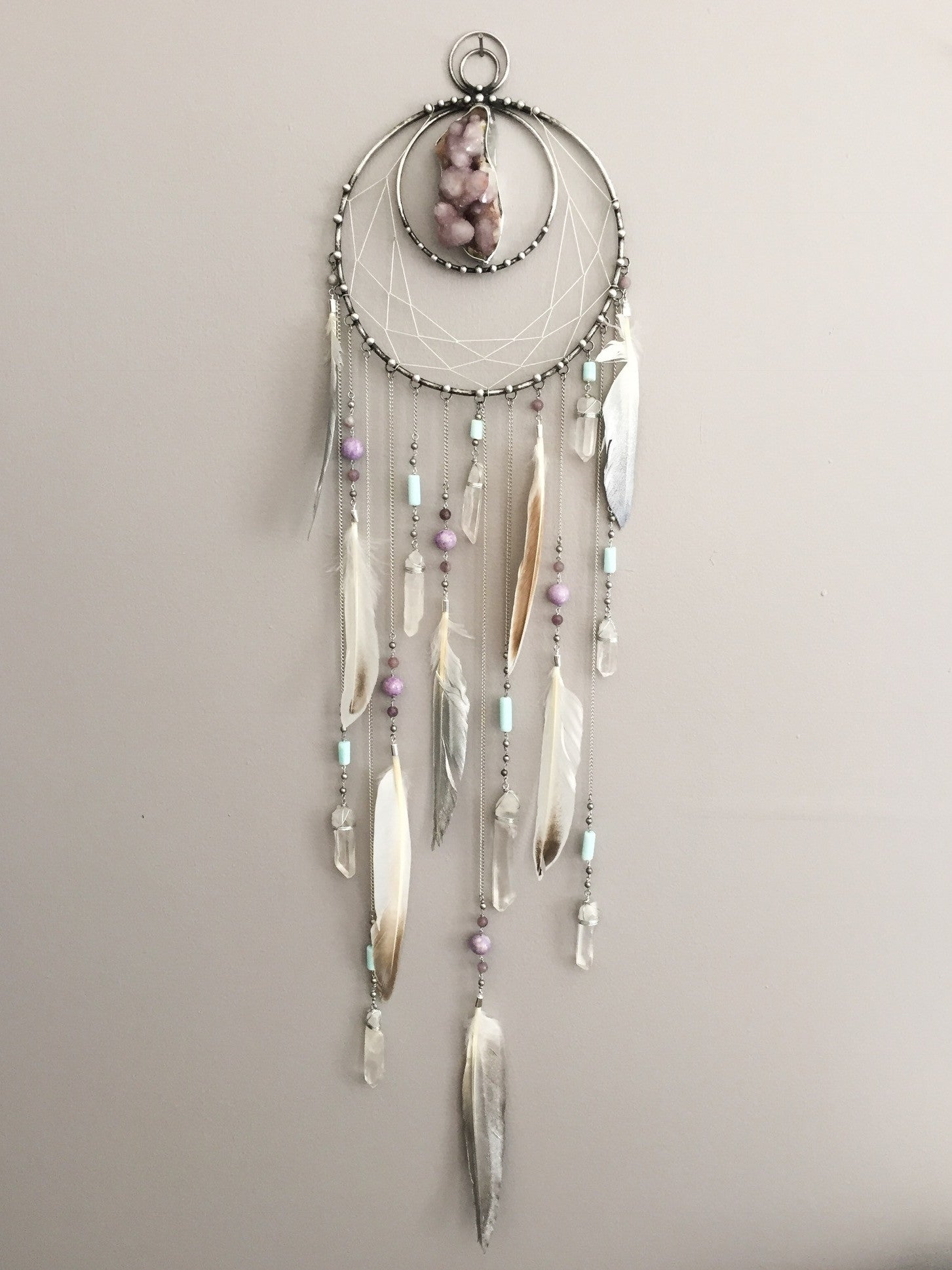 Anchoring the Light dreamcatcher