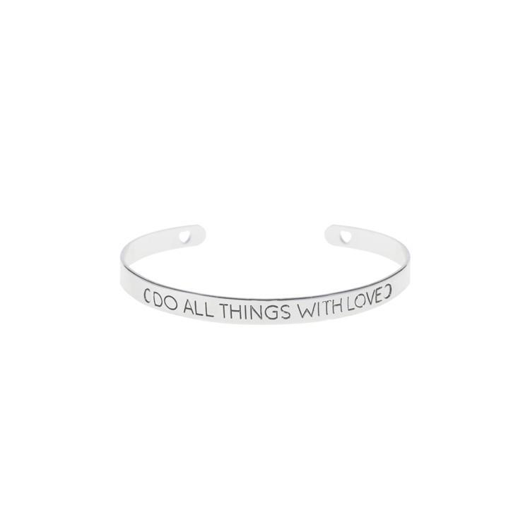 Bracelets - Do All Things With Love Bracelet
