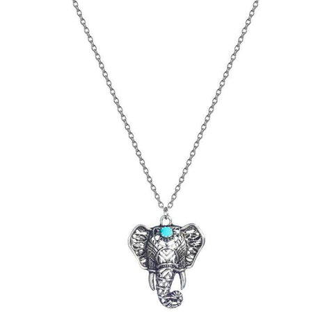 Necklace - Elephant Boho Necklace