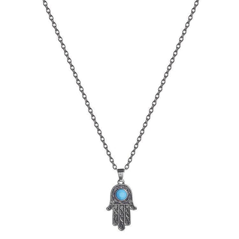 Necklace - Hamsa Bali Necklace