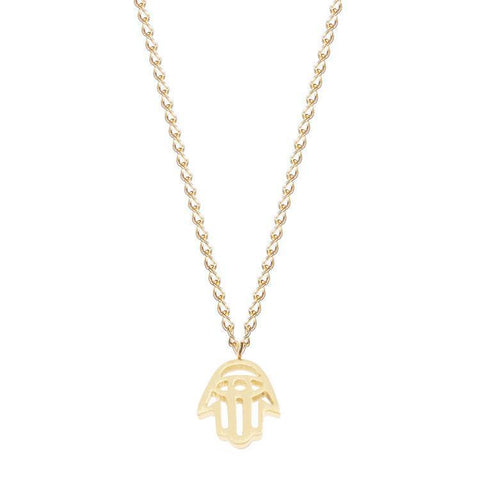 Necklace - Hamsa Golden Necklace