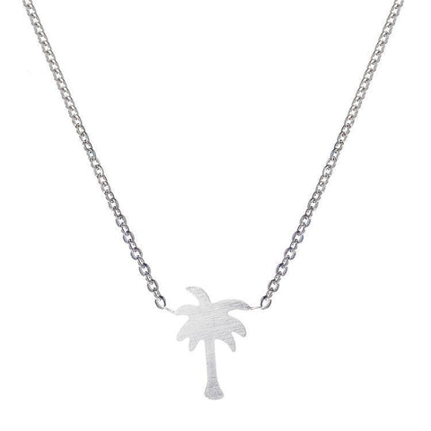 Necklace - Palm Tree Necklace