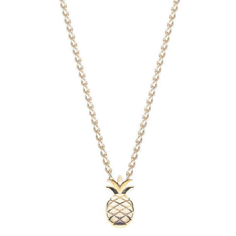 Necklace - Tropical Pineapple Necklace