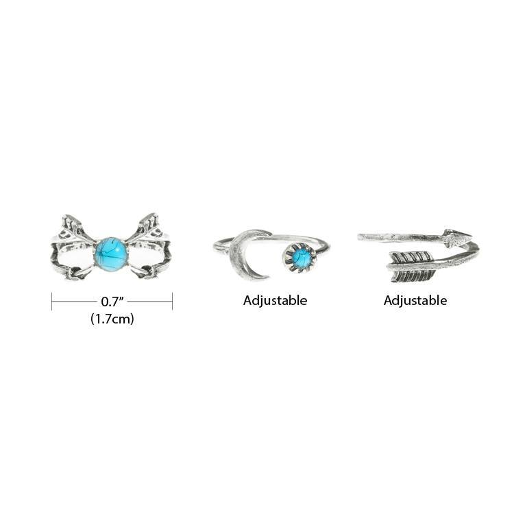 Rings - Boho Ring Set