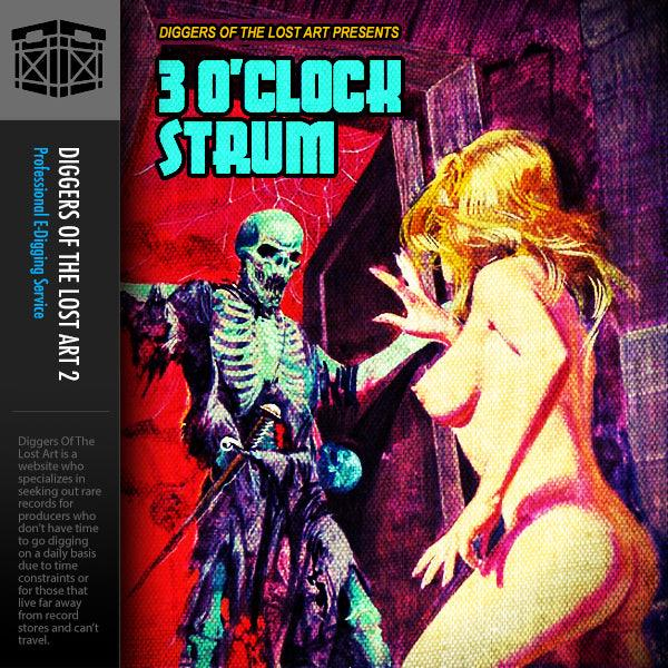 3 O'Clock Strum Drum Kit - Boom Bap Labs