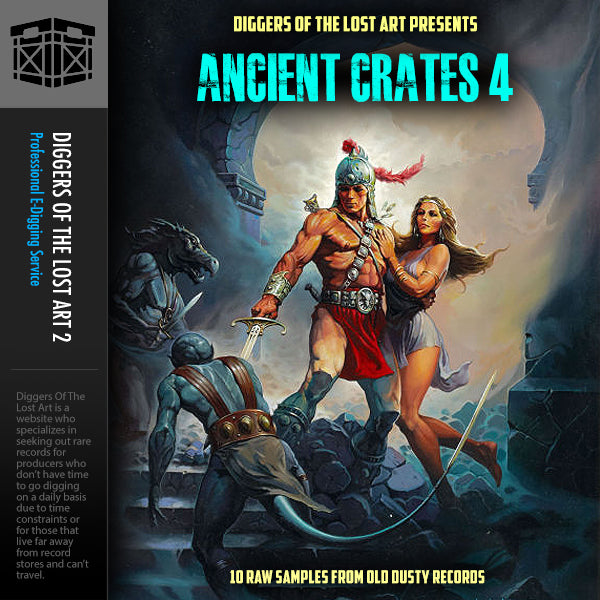 Ancient Crates 4 - Boom Bap Labs