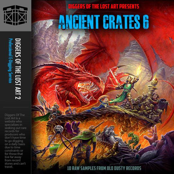 Ancient Crates 6 - Boom Bap Labs