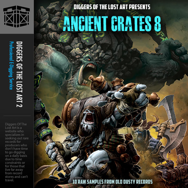 Ancient Crates 8 - Boom Bap Labs