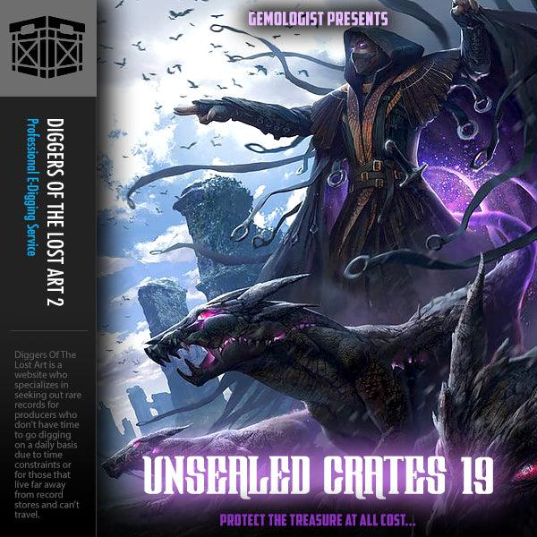 Unsealed Crates 19 - Boom Bap Labs