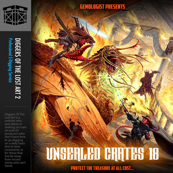 Unsealed Crates 18 - Boom Bap Labs