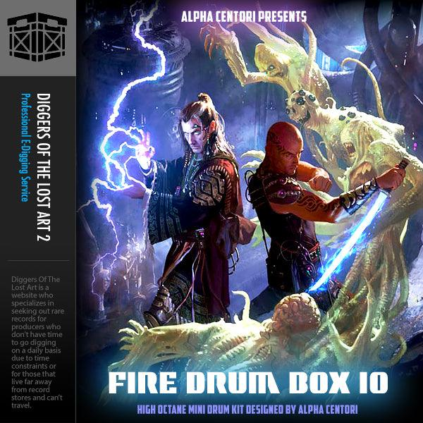 Fire Drum Box 10