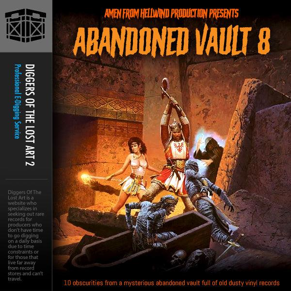 Abandoned Vault 8 Sample Pack