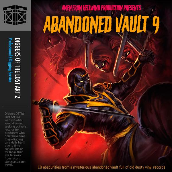 Abandoned Vault 9 Sample Pack