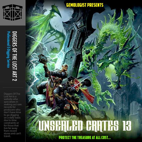 Unsealed Crates 13 - Boom Bap Labs
