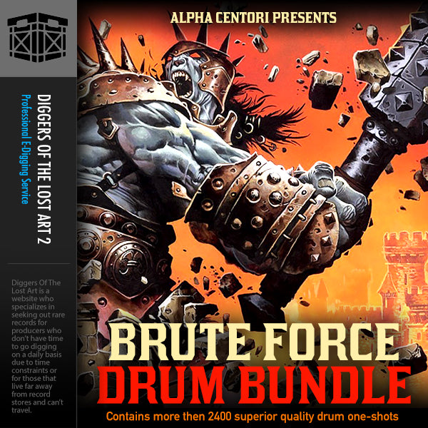 Brute Force Drum Bundle