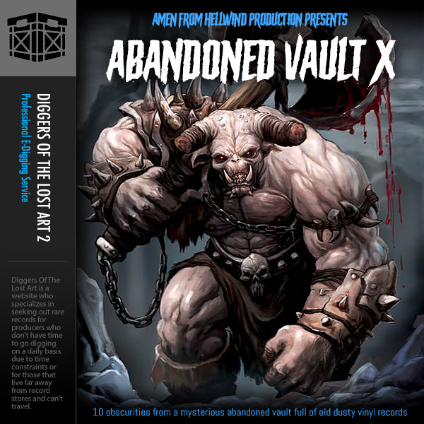 Abandoned Vault 10 Sample Pack