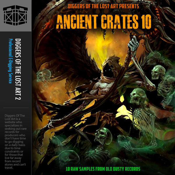 Ancient Crates 10 - Boom Bap Labs