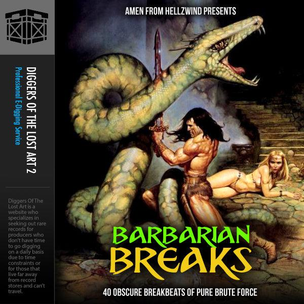 Barbarian Breaks 1 - Boom Bap Labs