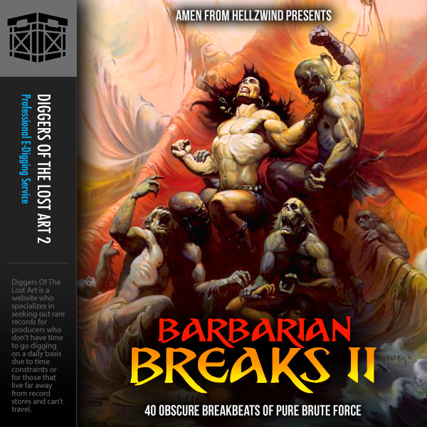 Barbarian Breaks 2 - Boom Bap Labs