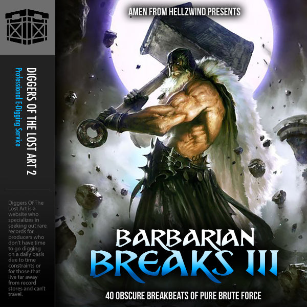 Barbarian Breaks 3 - Boom Bap Labs