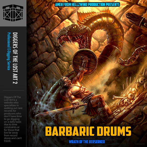 Barbaric Drums 1