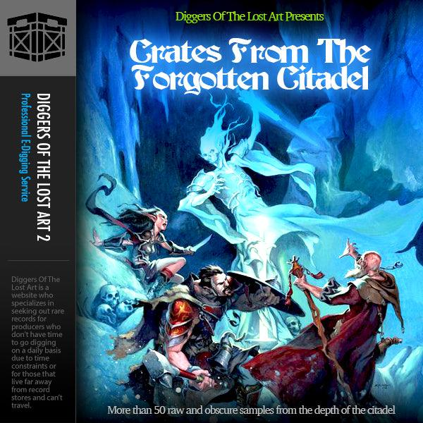Crates From The Forgotten Citadel - Boom Bap Labs