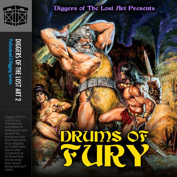 Drums of Fury - Boom Bap Labs