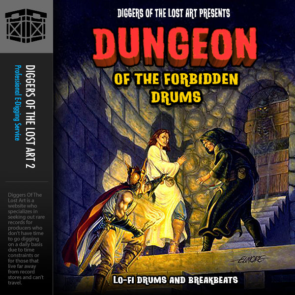 Dungeon of The Forbidden Drums - Boom Bap Labs