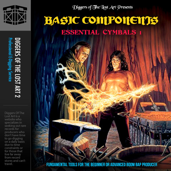 Basic Components Essential Cymbals 1 - Boom Bap Labs