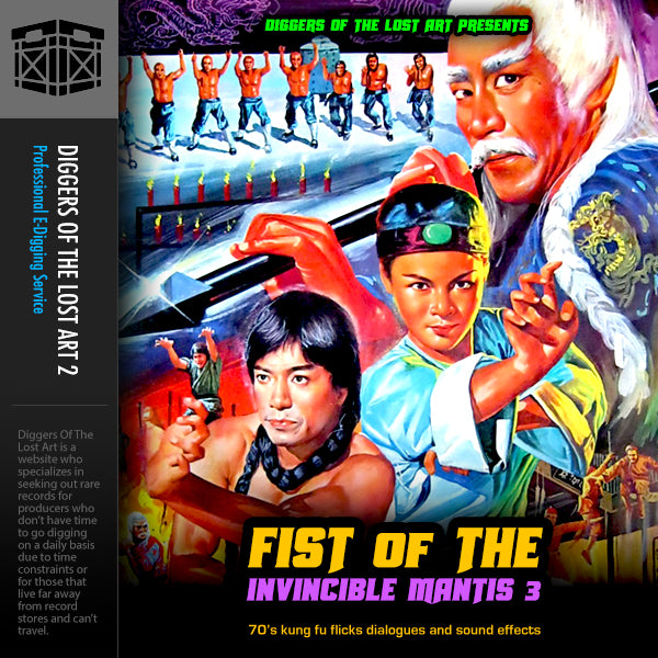 Fist Of The Invincible Mantis 3 - Boom Bap Labs
