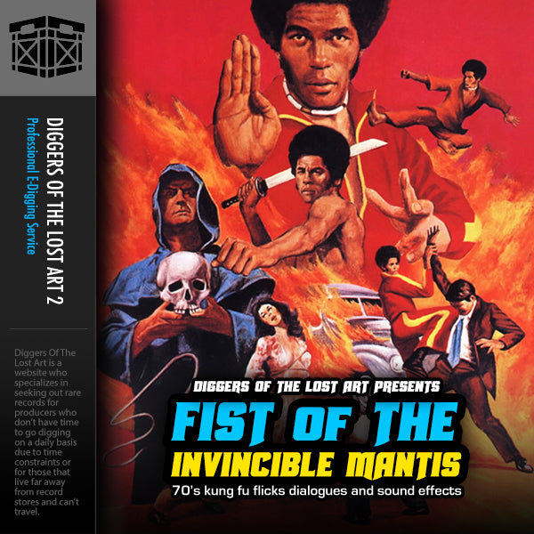 Fist Of The Invincible Mantis 1 - Boom Bap Labs