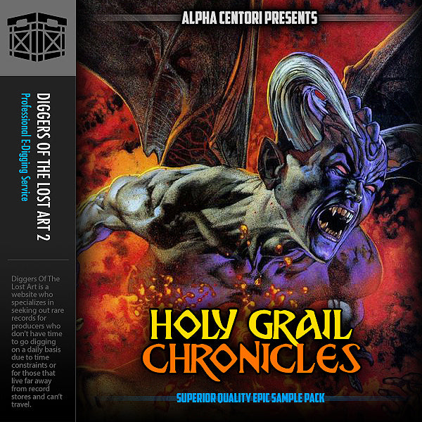 Holy Grail Chronicles - Boom Bap Labs