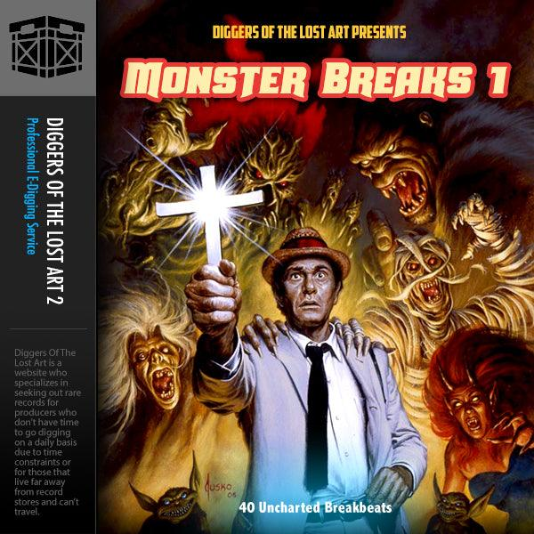 Monster Breaks 1 - Boom Bap Labs