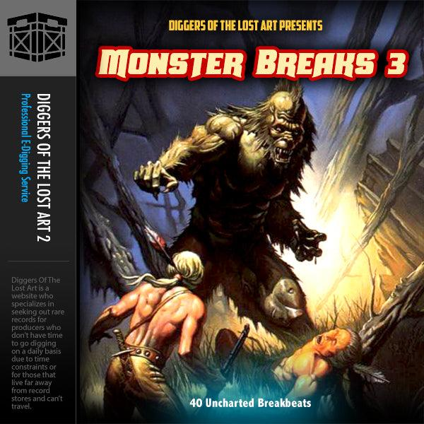 Monster Breaks 3 - Boom Bap Labs