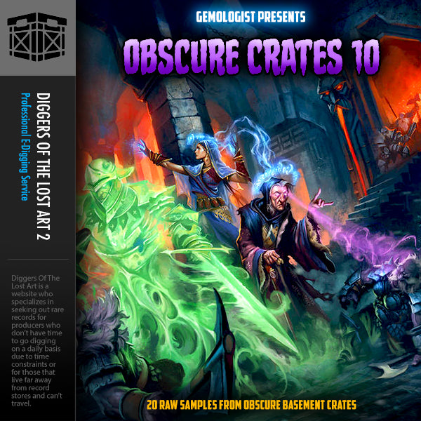 Obscure Crates 10 - Super Bonus Edition